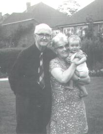 That's baby me with my grand parents, probably  taken in 1968
