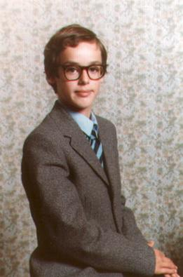 My school photo, aged 14, I rather hate it :-P